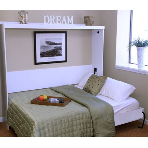 sideways murphy bed wood work horizontal wall bed diy pdf plans