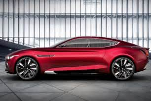 Electric Sports Cars For Sale Uk All Electric Mg E Motion Concept Is Supercar For