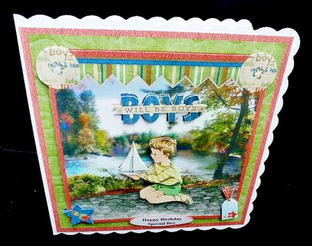 Decoupage Kits Sale - by the river card mini kit decoupage cup724653 1894