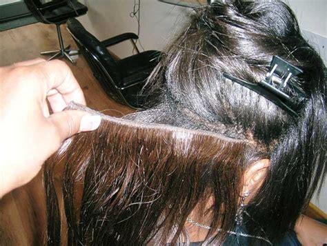 weaving black thin hair seamless hair weave remy indian hair