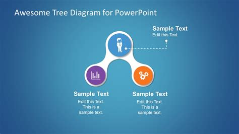 awesome templates for awesome tree diagram template for powerpoint slidemodel