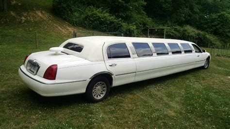 lincoln town car limo for sale 1999 lincoln town car limousine for sale