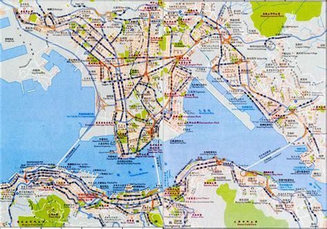 printable street map of hong kong maps update 21051488 hong kong tourist attractions map