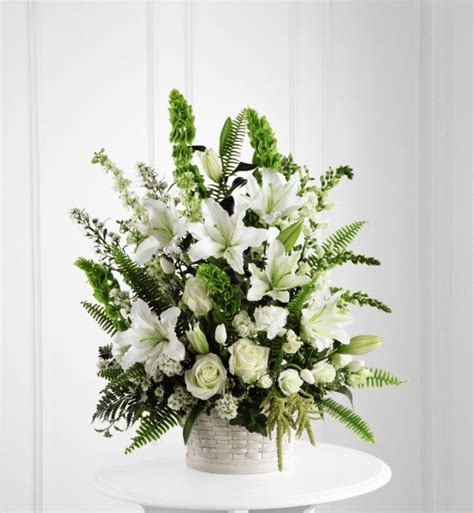 flower arrangements for funeral canada floral delivery sympathy flowers in the garden of peace