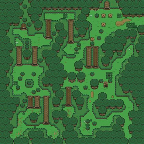 legend of zelda map maze lost woods location giant bomb