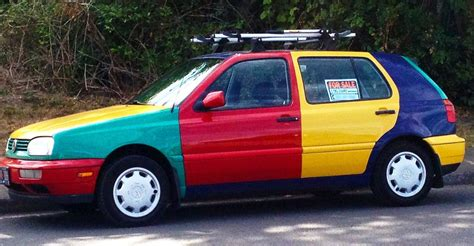 volkswagen harlequin for sale golf harlequin spotted on a walk and it s for sale