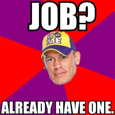 Meme Cena - a hater s guide to enjoying a john cena wwe chionship