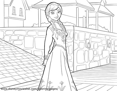 princess coloring pages frozen anna anna coloring page princess anna photo 36145786 fanpop