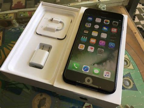 Iphone 7plus Black Matte 128gb apple iphone 7 plus 128gb matte black at t kuching