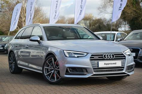 Audi S Line A4 by Used 2017 Audi A4 Avant S Line 3 0 Tdi Quattro 272 Ps