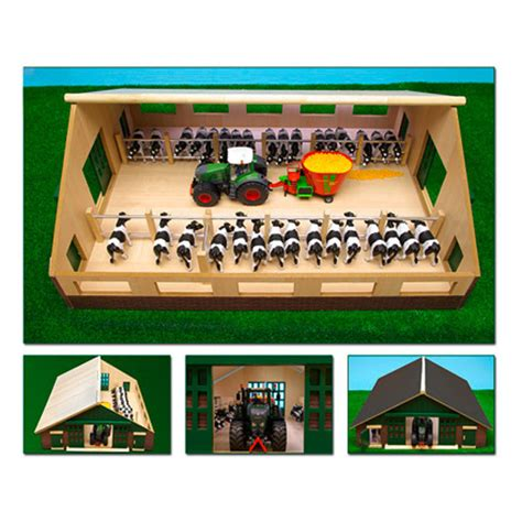 manen kinder spielzeug holz stall schuppen scheune - Scheune Holz Spielzeug