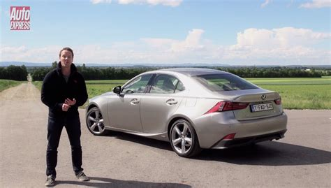 2013 Lexus IS 300 Hybrid Review by Auto Express