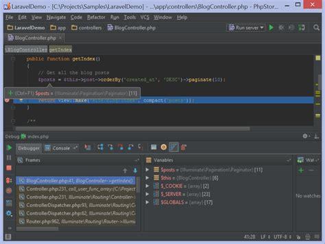 advanced debugging in phpstorm phpstorm video tutorial 优雅的使用 phpstorm 来开发 laravel 项目 郑彦彬 博客园