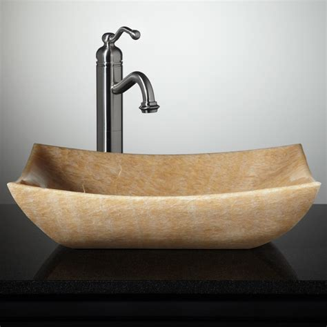 stone sinks for bathrooms new stone vessel sinks eclectic bathroom sinks