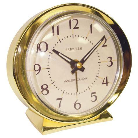 westclox baby ben gld alarm clock ebay