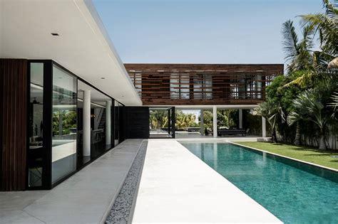 Architectural L by Villa Contemporaine V 224 Bali Indonesia Architecte A2 Sb