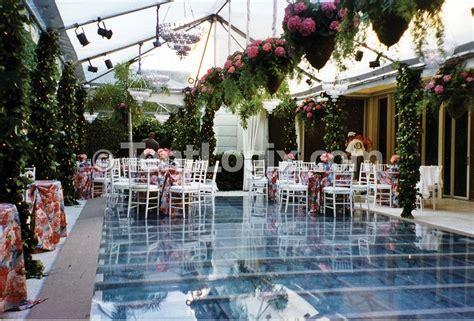 wedding aisle pool clear acrylic pool covers tentlogix