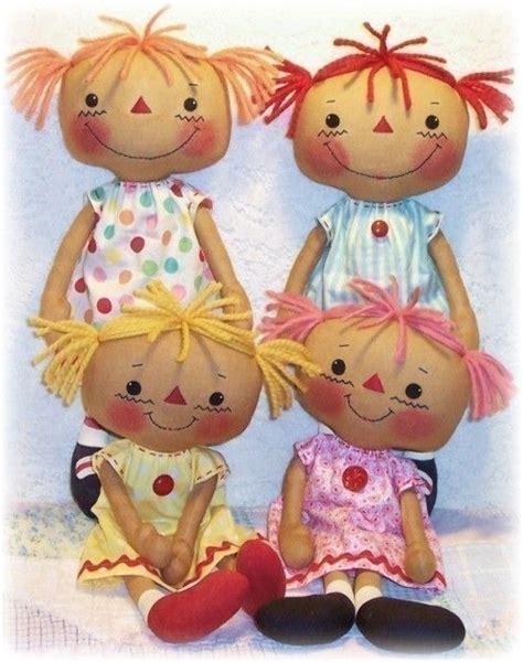 Handmade Doll Patterns Free - cloth doll pattern pdf pattern rag doll pattern sewing