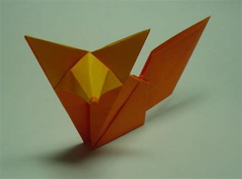 Origami Fox Tutorial - 3d origami fox driverlayer search engine