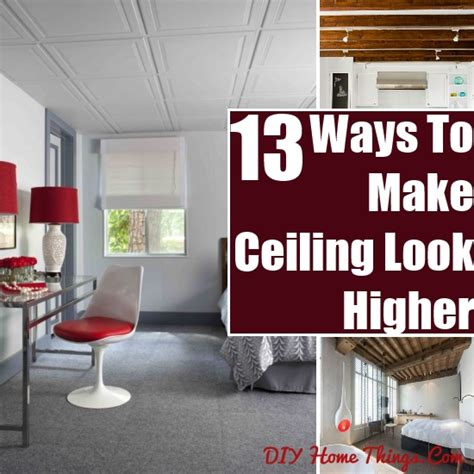 how to make ceiling look higher 13 ways to make a ceiling look higher diy home things
