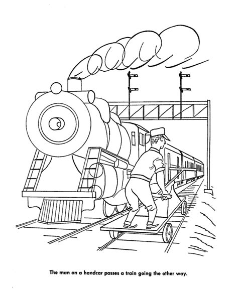 coloring pages of train tracks train tracks colouring pages