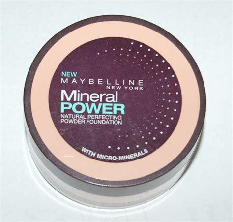 Maybelline Powder Foundation maybelline mineral power perfecting powder