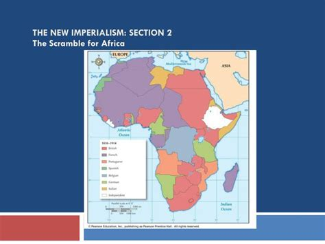 the new imperialism section 1 quiz ppt the partition of africa powerpoint presentation id