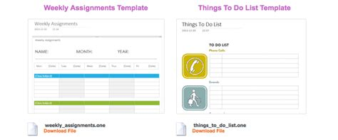 Use Onenote Templates To Streamline Meeting Class Project And Event Notes Onenote To Do List Template