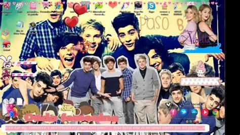 imagenes de uñas one direction especial one direction personalizacion de pantalla cursor
