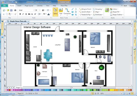 Home Design Interior Software by Easy Interior Design Software Build The Sweetest Home