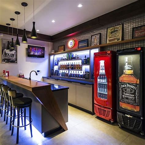 cool home bar decor cool and modern basement bar ideas