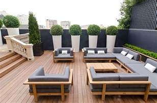 modern patio set 18 modern outdoor spaces