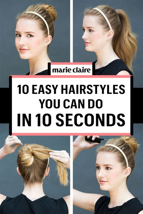 hairstyles quick and easy to do m 17 best images about hairstyling and aesthetics on