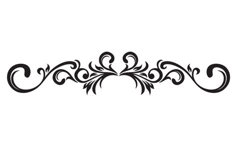 scroll pattern png decorative scroll cliparts co