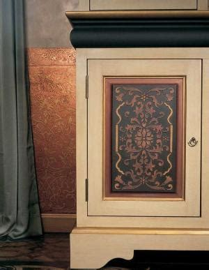 Stencils For Cabinet Doors Stunning Entryway Stenciled Black Walls White Woodwork Molding Wow Stencil By Royal