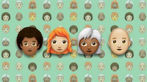 emoji adalah emoji dengan aneka warna dan jenis rambut akan segera tiba