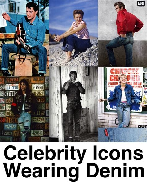 celebrity wrangler jeans celebrity icons wearing denim throughout history