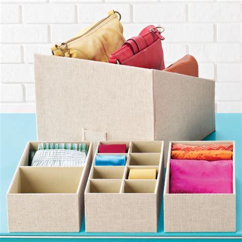 Linen Closet Storage Bins by Linen Handbag Storage Bin The Container Store