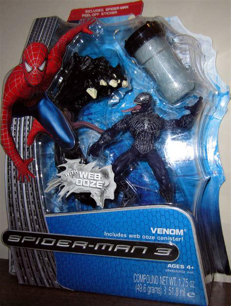 spider 3 figures venom with jaw ooze trap figure spider 3