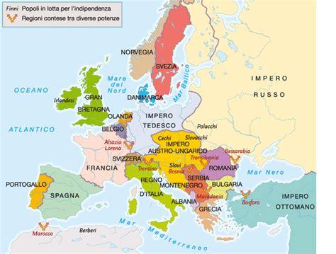 mappa concettuale l impero austro ungarico e europa cosa accadde nel 1909 l europa nel 1909