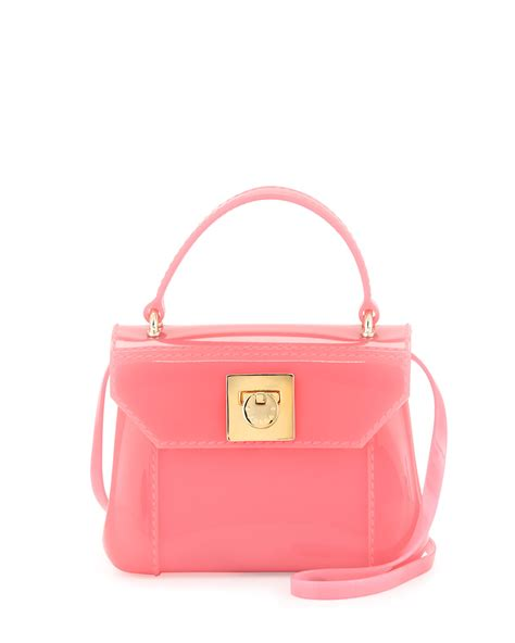 Mini Furla furla bon bon mini crossbody bag in pink null lyst