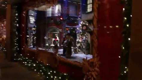 How To Decorate A Bow Window miracle at the hudson s bay christmas windows 2015