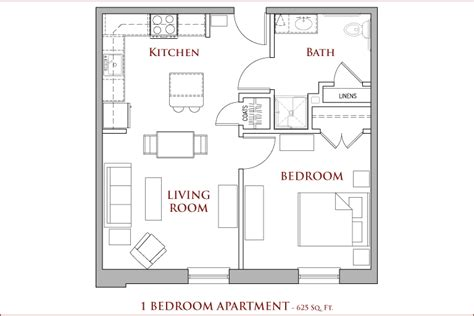 one bedroom apartment square footage cony flatiron cony flatiron 55 senior residence