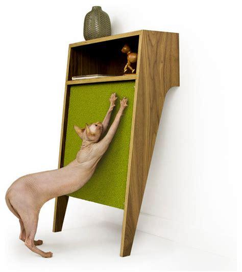 mid century modern cat furniture cat console by modernist cat midcentury cat furniture