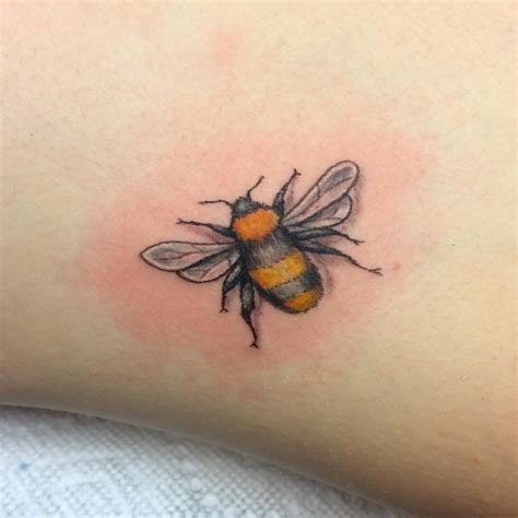 small bee tattoo 21 bumble bee designs ideas design trends