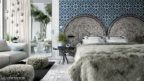 fur wallpaper for bedrooms make sleeptime luxurious with these 4 stunning bedroom spaces interior design ideas howldb