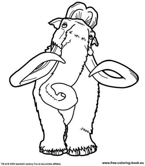 ice age coloring pages online coloring pages ice age page 2 printable coloring pages