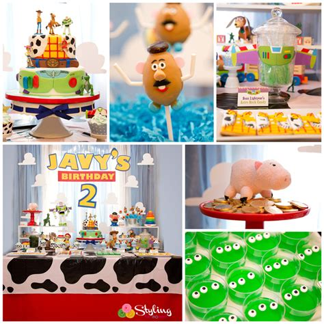 themes toy story 3 toy story party styling the moment
