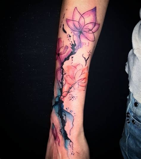 watercolor tattoos california best 25 watercolor sleeve ideas on
