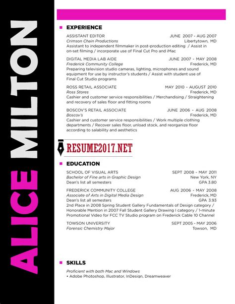 Resume Resume Template by 20 Resume Templates 2017 To Win